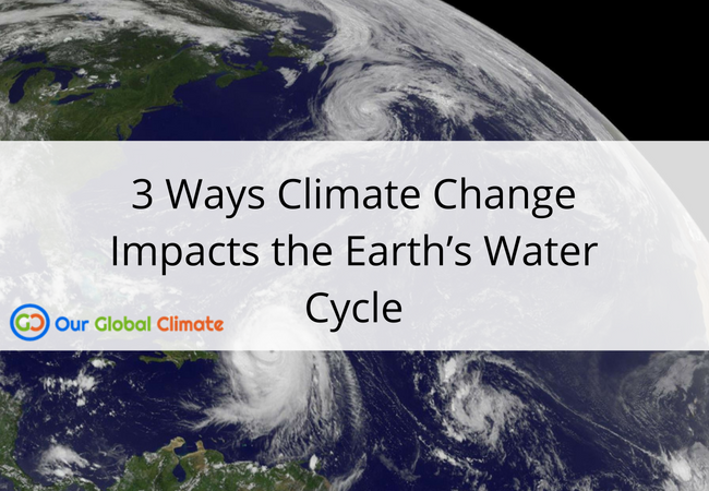 3 Ways Climate Change Impacts the Earth's Water Cycle