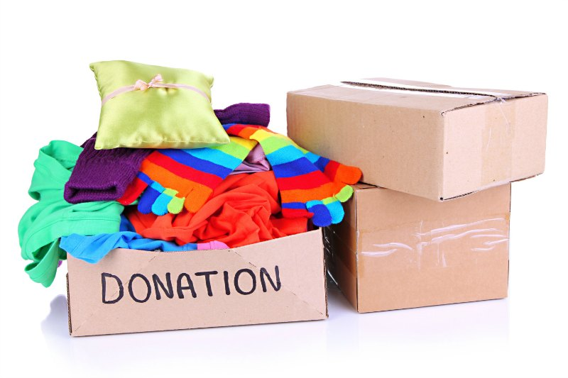 make a difference - donate clothes